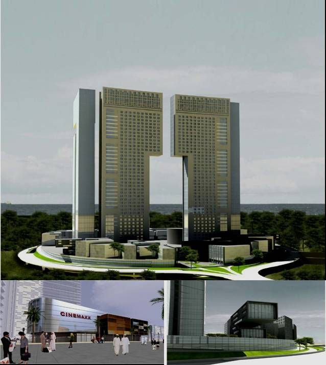 Architecture Design Concept high rise buildings (architectural design & engineering concept) 1
